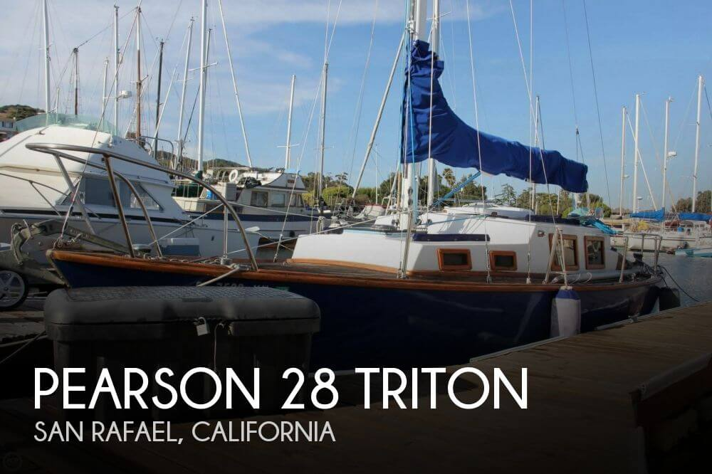 1965 Pearson 28 Triton - Photo #1