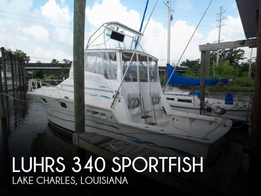 1983 Luhrs 340 Sportfish - Photo #1