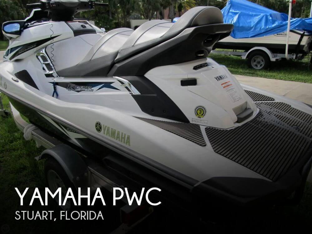 2015 Yamaha Waverunner FX SVHO Cruiser - Photo #1