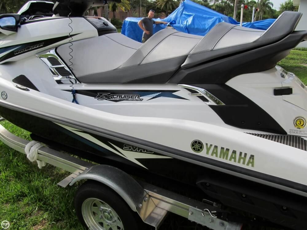 2015 Yamaha Waverunner FX SVHO Cruiser - Photo #7