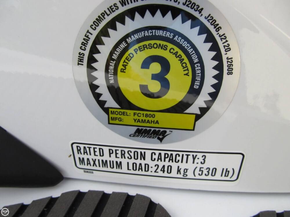 2015 Yamaha Waverunner FX SVHO Cruiser - Photo #20