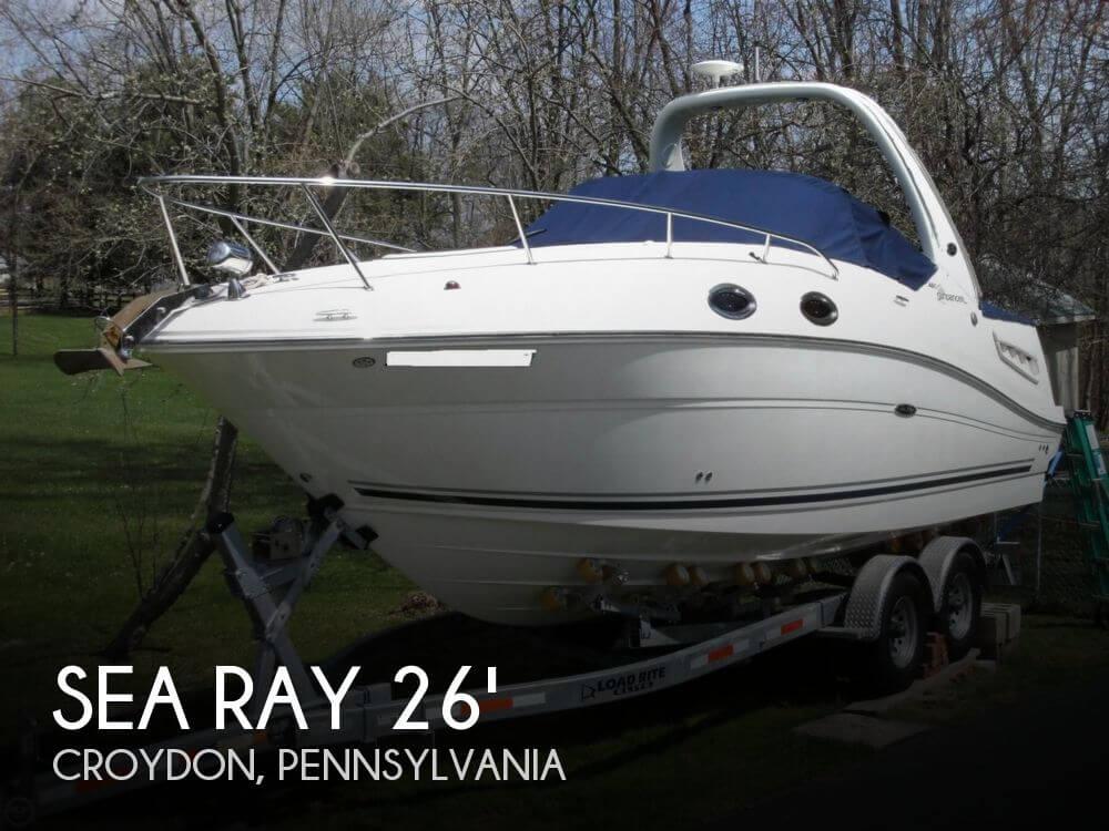 2007 Sea Ray 260 Sundancer - Photo #1