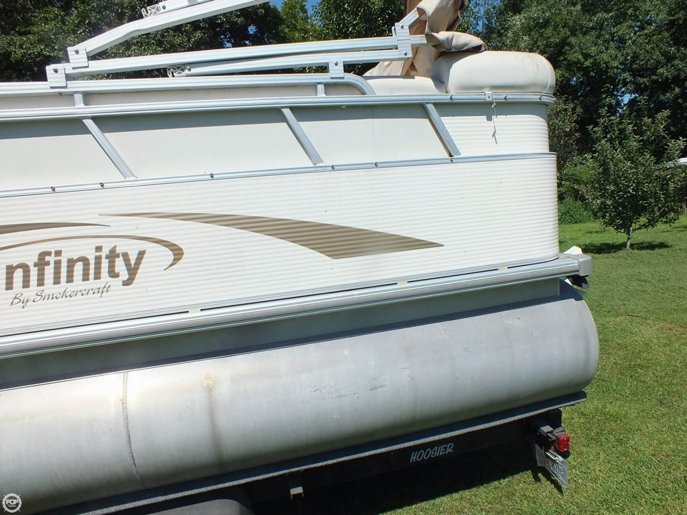 2004 Smoker Craft boat for sale, model of the boat is M 818 Infinity CR & Image # 33 of 40