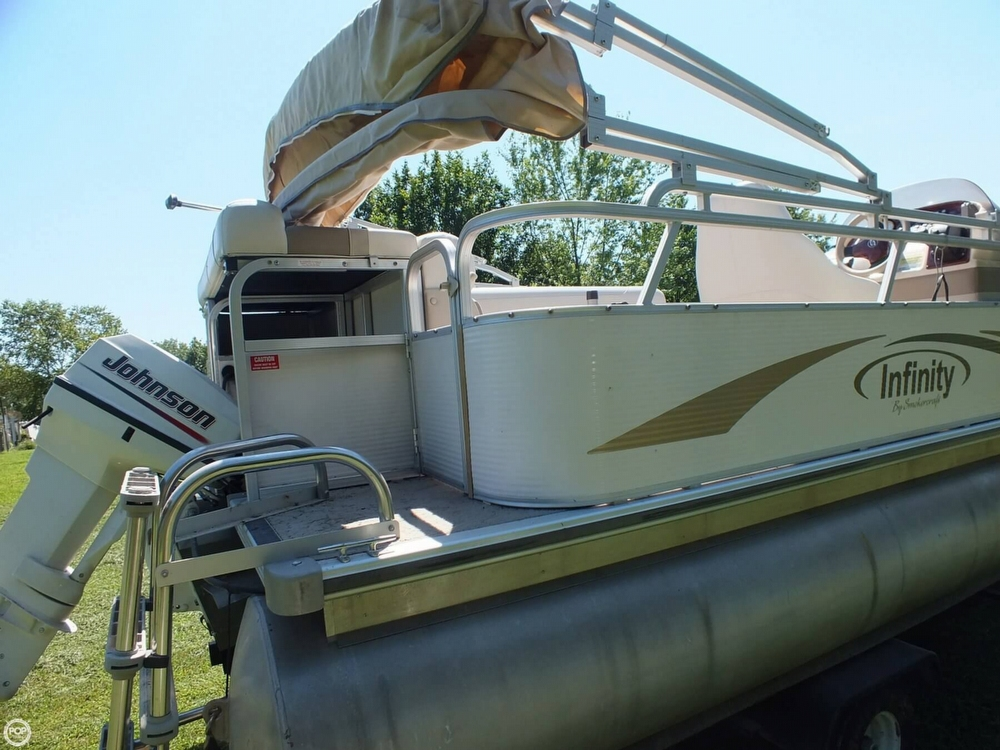 2004 Smoker Craft boat for sale, model of the boat is M 818 Infinity CR & Image # 35 of 40