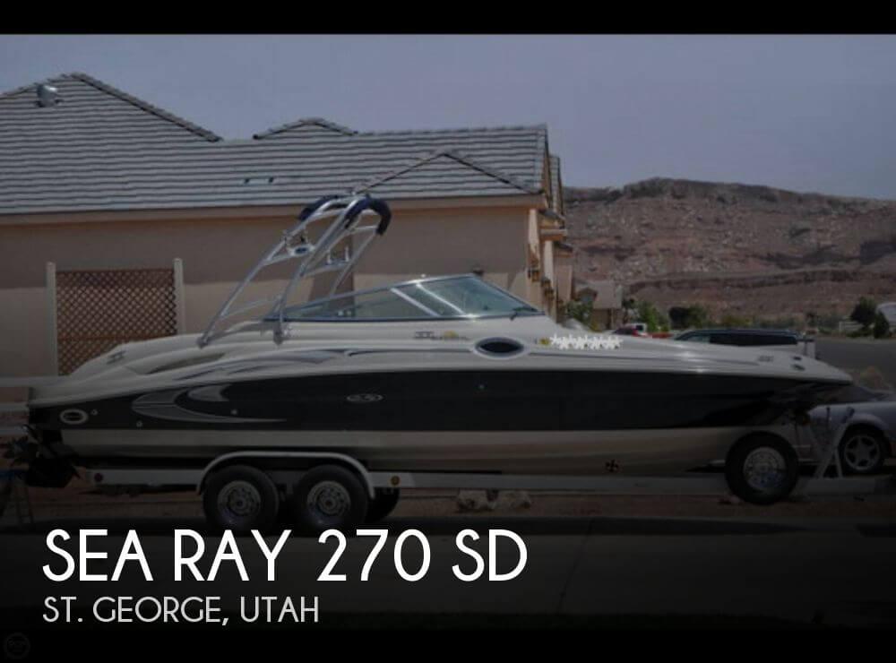 2006 Sea Ray 270 SD - Photo #1