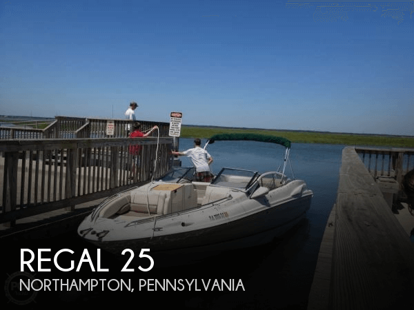 Used Boats For Sale in Scranton, Pennsylvania by owner | 2000 Regal 25