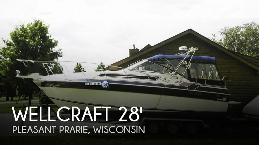 1987 Wellcraft 2800 Monte Carlo