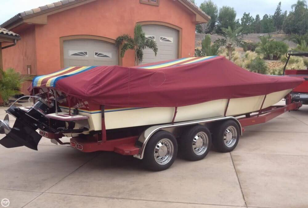 1986 Hallett boat for sale, model of the boat is 7.9 EXP & Image # 20 of 26