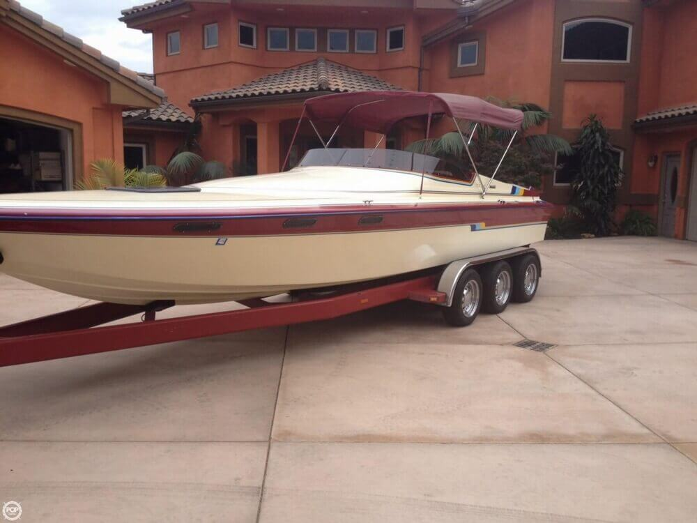 1986 Hallett boat for sale, model of the boat is 7.9 EXP & Image # 23 of 26