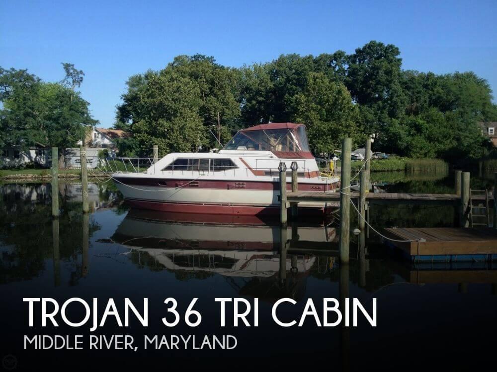 1983 Trojan 36 Tri Cabin - Photo #1