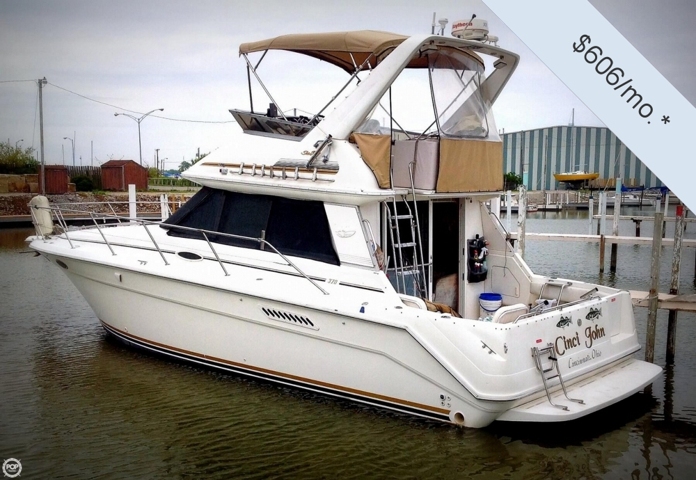 1996 sea ray 37 fishing boat for sale in curtice oh for Fishing boats for sale in ohio