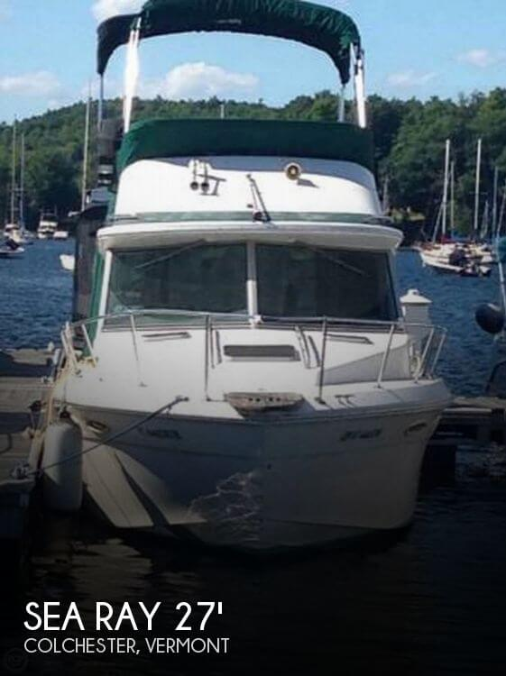 1987 SEA RAY 270 SPORTFISH for sale
