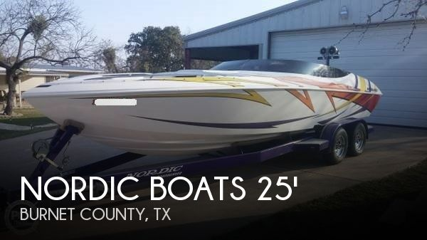 2007 Nordic Tugs boat for sale, model of the boat is 25 Rage Open Bow & Image # 1 of 41