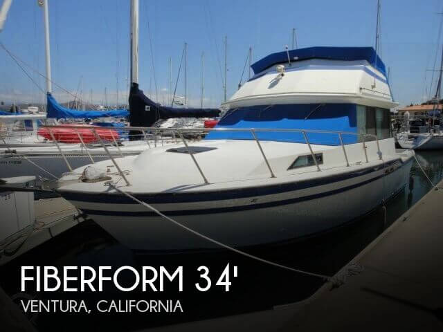 sold fiberform 3300 executive flybridge boat in ventura, ca 081613 Tracker Boat Electrical Diagrams 1978 fiberform 3300 executive flybridge for sale