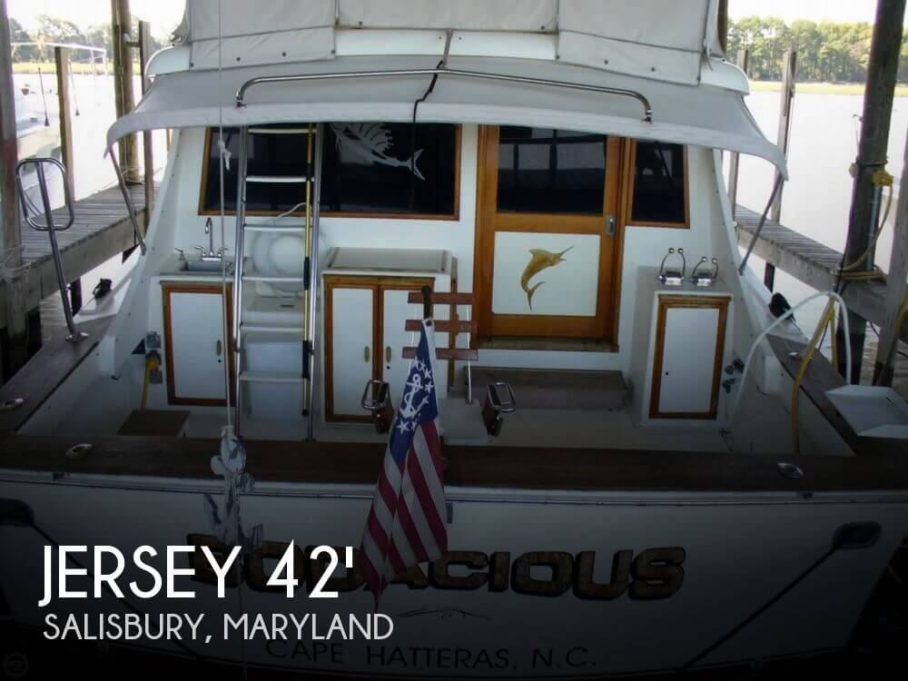 Used Fishing boats For Sale in Maryland by owner | 1989 Jersey 42