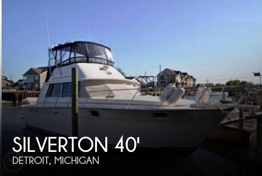 1989 Silverton 40 Aft Cabin - Photo #1