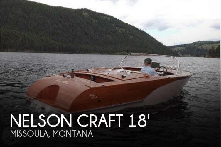 2012 Nelson Craft 18 Runabout - Photo #1