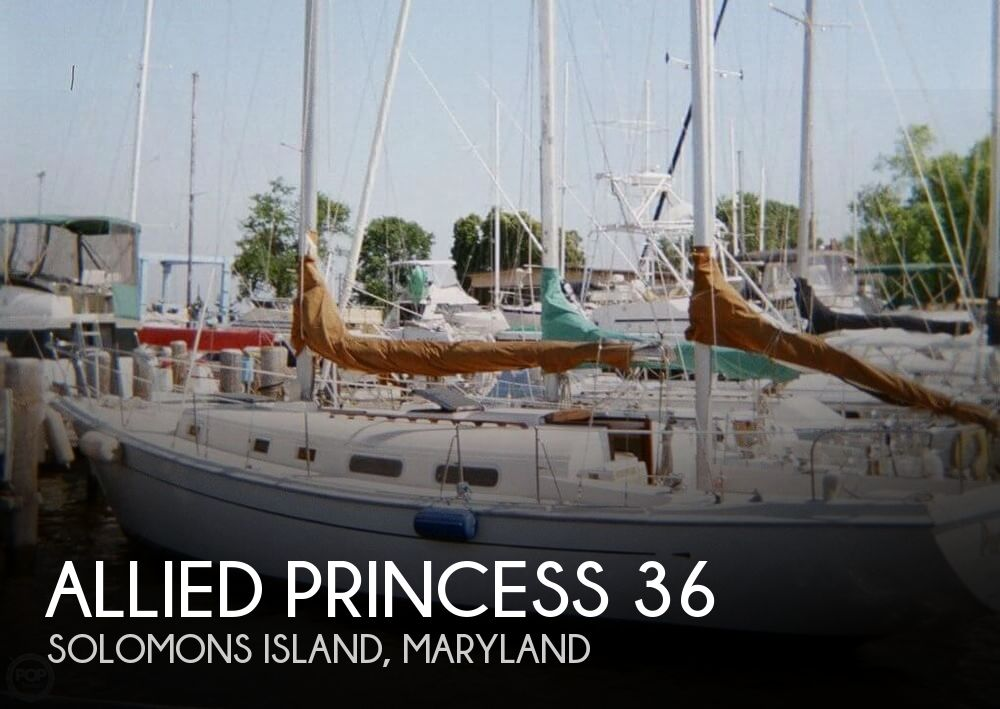 Allied Princess 36 Ketch Sailboat For Sale In Solomons