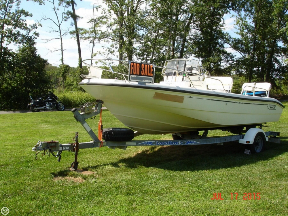 2001 Boston Whaler 18 Dauntless - Photo #3