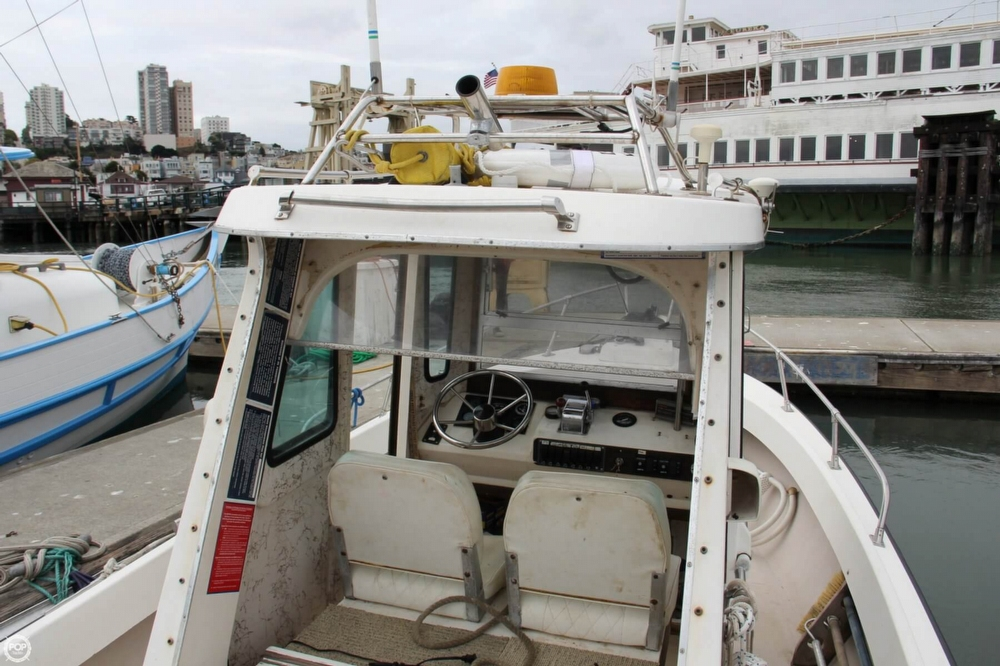 1988 Shamrock boat for sale, model of the boat is 20 Pilothouse & Image # 22 of 40