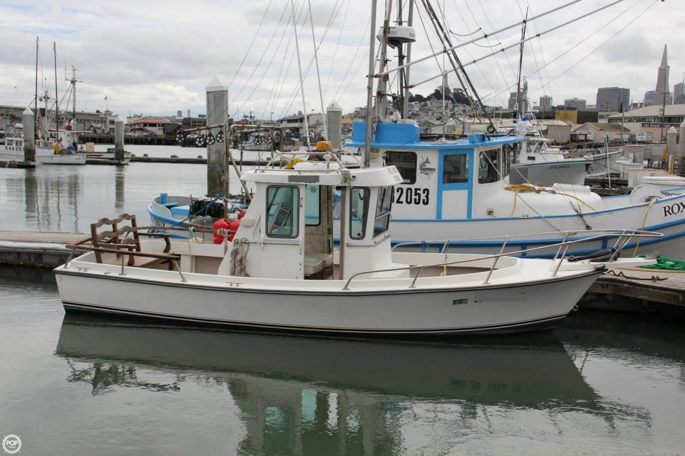 1988 Shamrock boat for sale, model of the boat is 20 Pilothouse & Image # 2 of 40