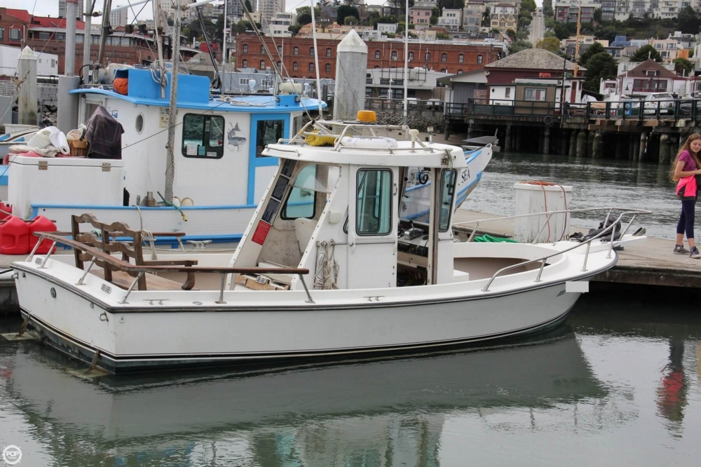 1988 Shamrock boat for sale, model of the boat is 20 Pilothouse & Image # 3 of 40