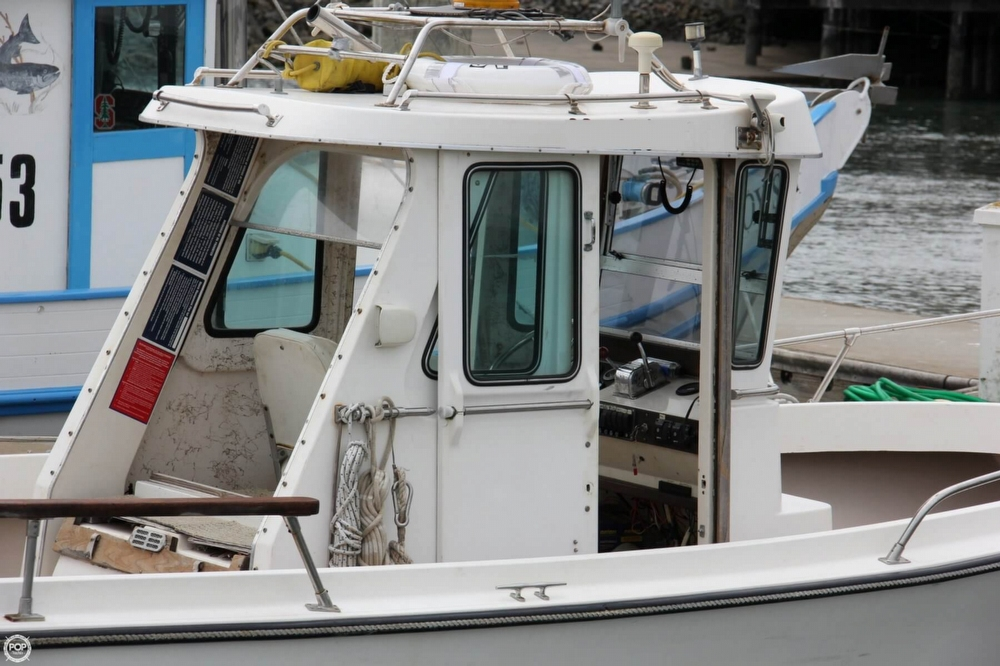 1988 Shamrock boat for sale, model of the boat is 20 Pilothouse & Image # 4 of 40