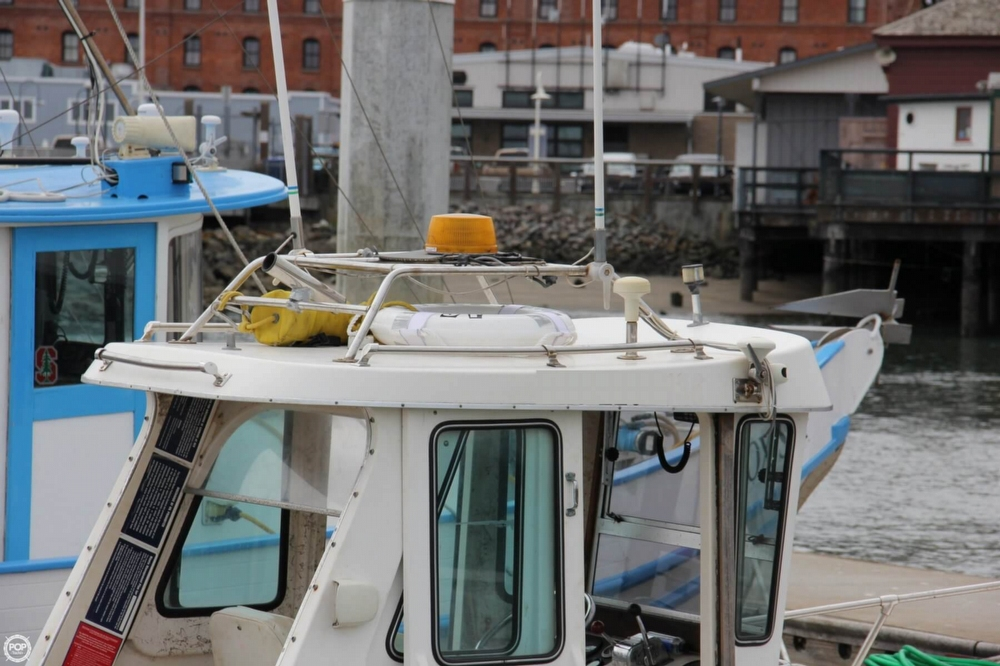 1988 Shamrock boat for sale, model of the boat is 20 Pilothouse & Image # 5 of 40