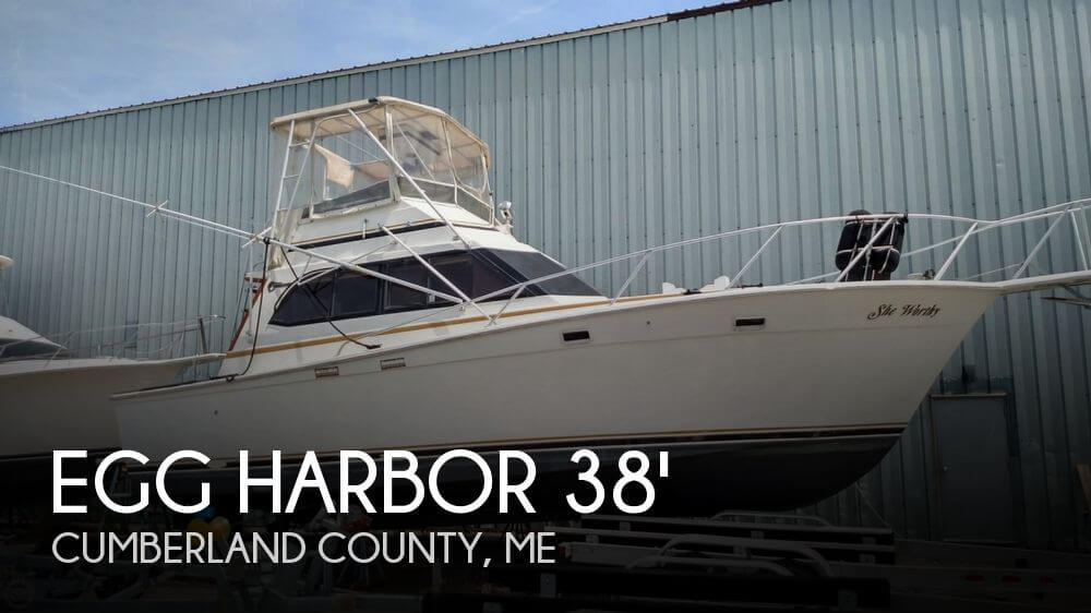 1987 Egg Harbor 37 Convertible - Photo #1