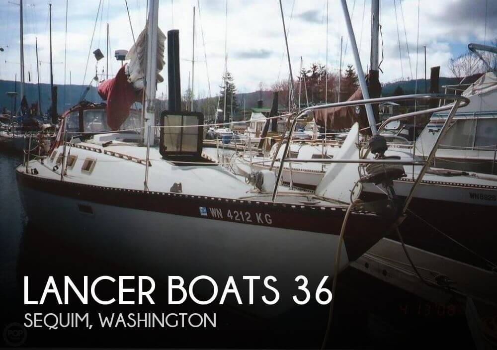 Used Sailboats For Sale in Washington by owner | 1981 Lancer Boats 36