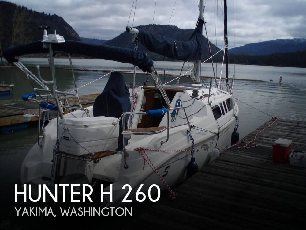 2004 HUNTER H 260 for sale