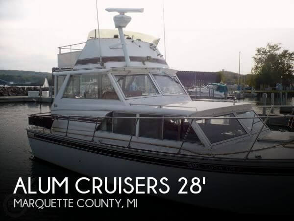 1984 Aluminum Cruisers 28 Marinette - Photo #1