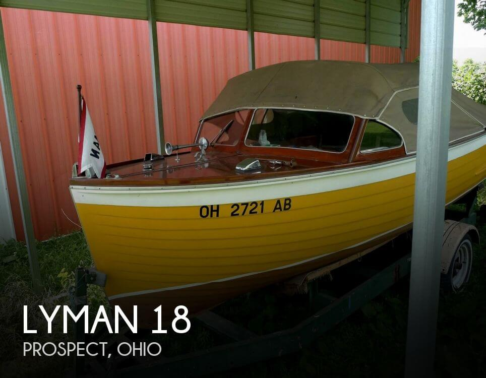 Used Lyman Boats For Sale in Ohio by owner | 1952 Lyman 18