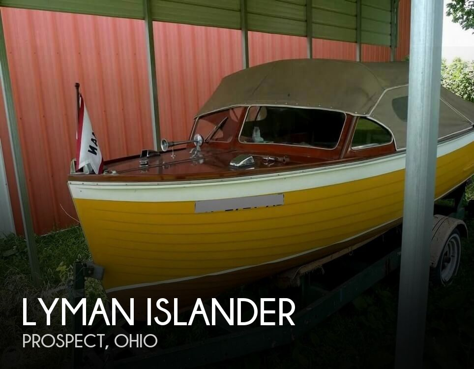 1952 Lyman boat for sale, model of the boat is Islander & Image # 1 of 23