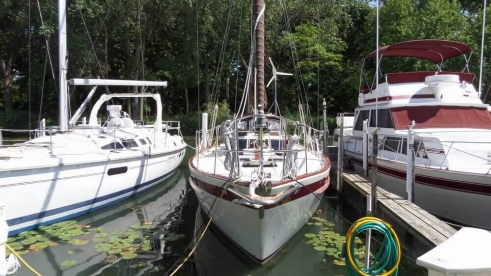 1980 Corbin boat for sale, model of the boat is 39 & Image # 4 of 40