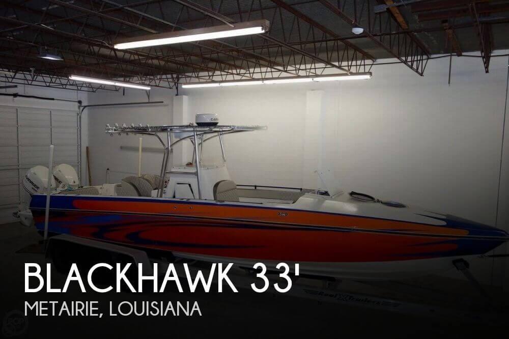 2007 Blackhawk 33 Center Console Cuddy - Photo #1