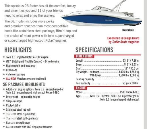 2008 Sea-Doo 230 Challenger SE - Photo #8