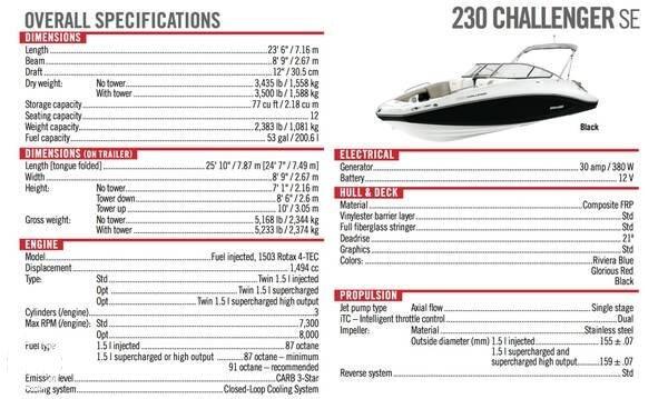 2008 Sea-Doo 230 Challenger SE - Photo #12