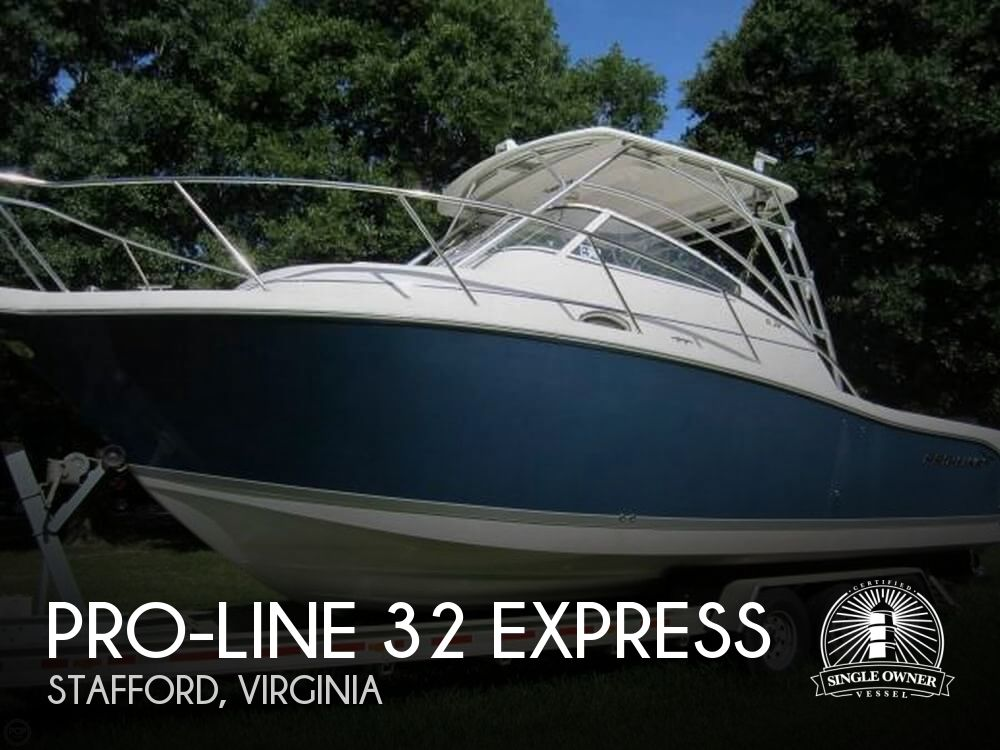 2008 PRO LINE 32 EXPRESS for sale