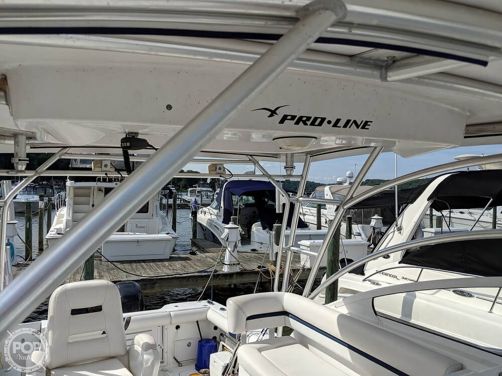 2008 Pro-Line boat for sale, model of the boat is 32 Express & Image # 28 of 41