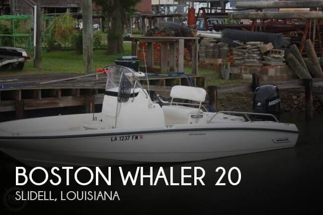 2010 Boston Whaler 20 - Photo #1