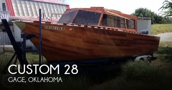Used Boats For Sale in Oklahoma by owner | 2013 Custom 28