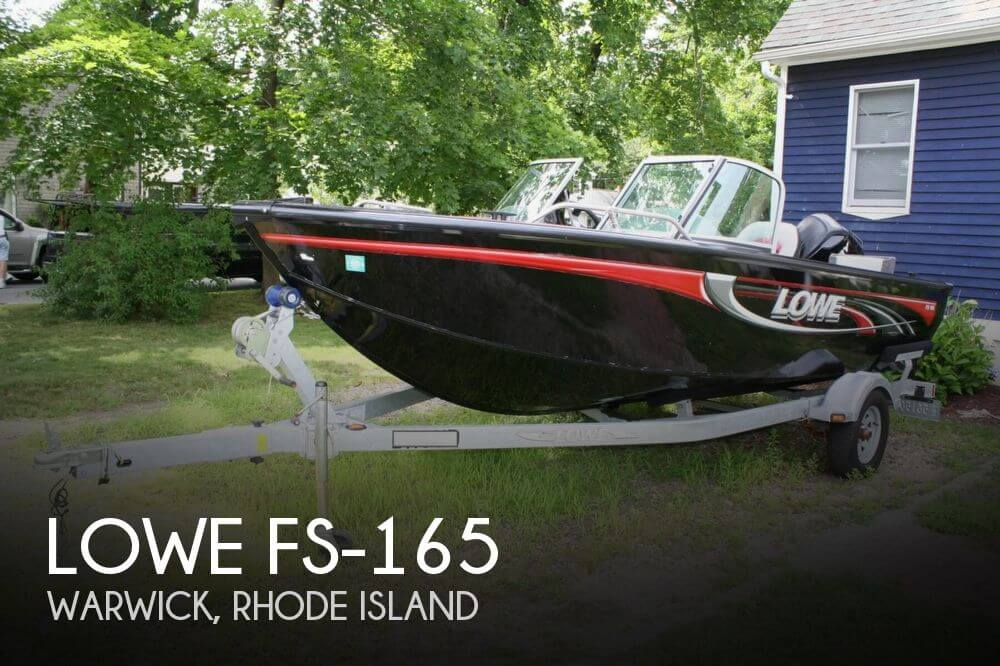 Sold lowe fs 165 boat in warwick ri 083119 for Bass fishing boats for sale