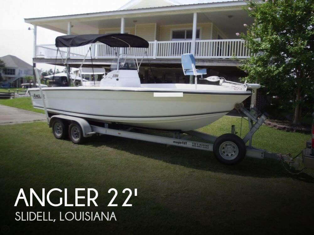 2001 Angler 2200 Grande Bay - Photo #1