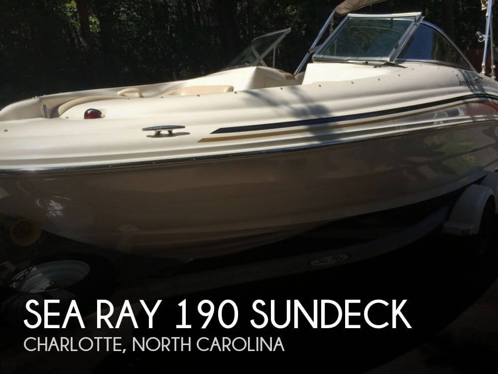 2001 Sea Ray 190 Sundeck - Photo #1