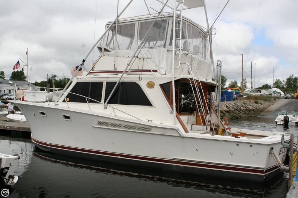 1985 jersey 40 dawn fishing boat for sale in n kingstown ri for Fishing boats for sale nj