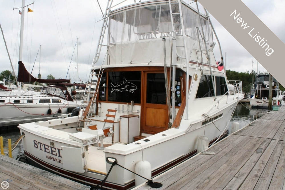 Used Jersey Boats For Sale by owner | 1985 Jersey 40 Dawn