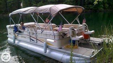 Lifetime Fisher 240 DLX Pontoon, 24', for sale - $18,500
