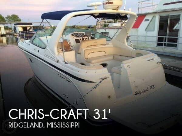 Sold chris craft 308 express cruiser boat in ridgeland for Chris craft express cruiser for sale