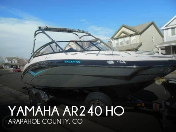 Used Boats For Sale in Colorado Springs, Colorado by owner | 2014 Yamaha 24
